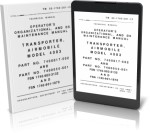 TRANSPORTER, AIRMOBILE, MODEL 4003, PART NOS. 7400017-502 A 7400050-501 (FSN 1740-902-3132) AND (1740-901-1870)